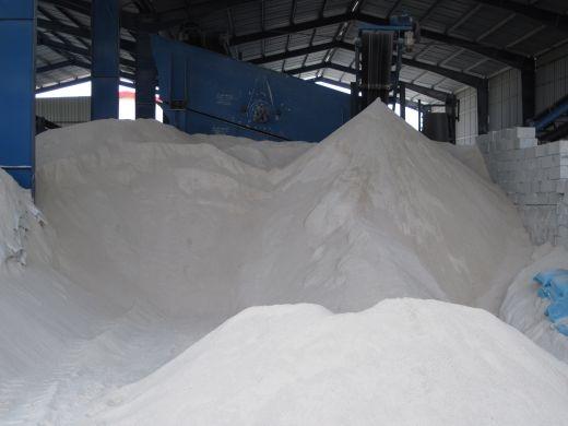 فروش کارخانه فعال تولید صدف معدنی و تولیدبتن سبک و چسب کاشی