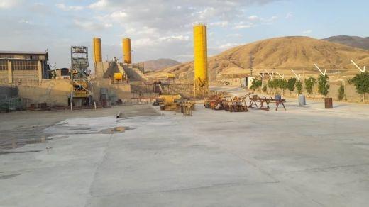 فروش کارخانه بلوک زنی همراه با ویلا، سوله در کردستان