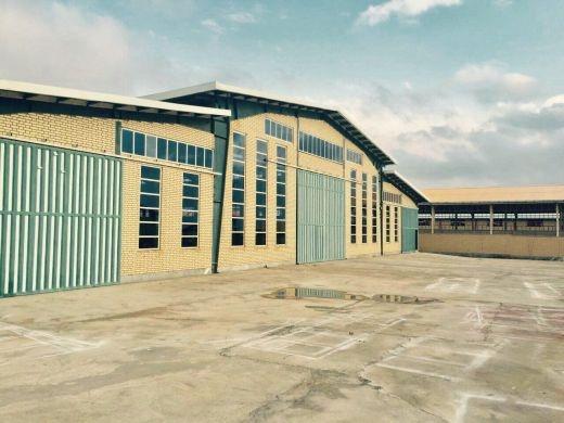 فروش سوله کارخانه انبار در شهرک صنعتی زاویه