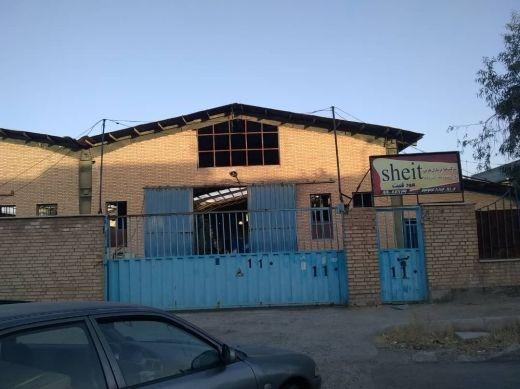 فروش کارخانه با مجوز برش آهن آلات با سهمیه در شهرک صنعتی ایوانکی