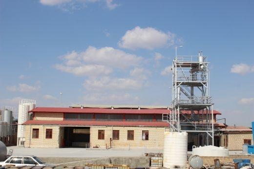 فروش کارخانه تینر سازی در شهرک صنعتی شمس آباد