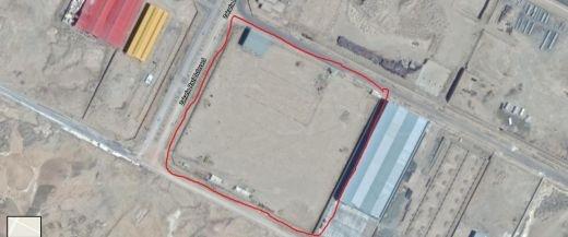 زمین صنعتی در شهرک صنعتی شمس آباد